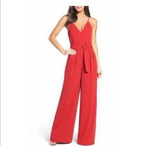 ca1e03539c9 NWT Jill Jill Stuart Red Jumpsuit size 10